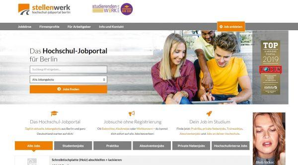 Studierendenwerk Berlin - Stellenwerk