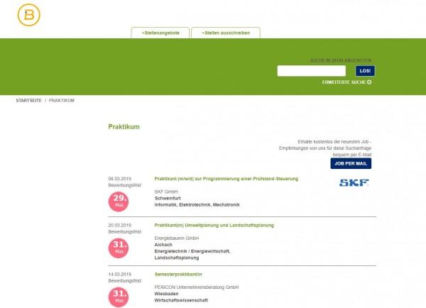 HS Zittau/Görlitz - Berufsstart