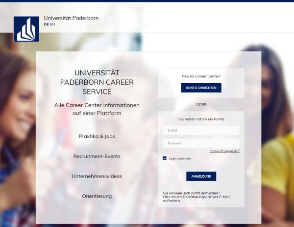 Uni Paderborn (Career Service) - Praktikanten