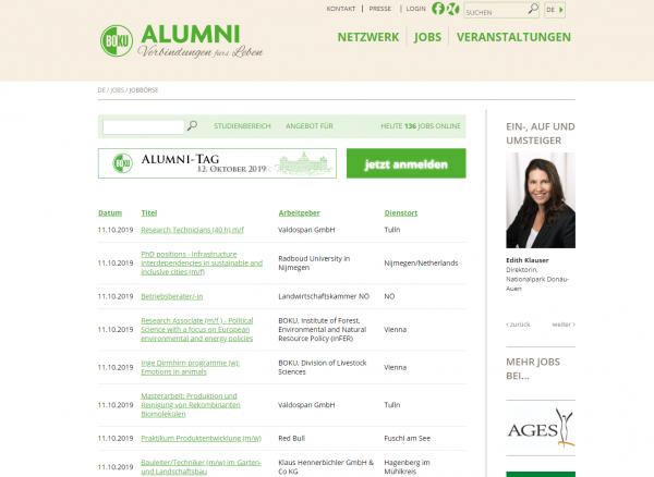 Universität für Bodenkultur Wien - BOKU Alumni