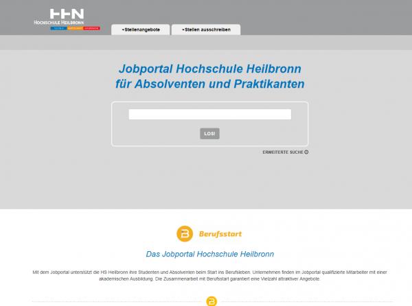 HS Heilbronn - Berufsstart