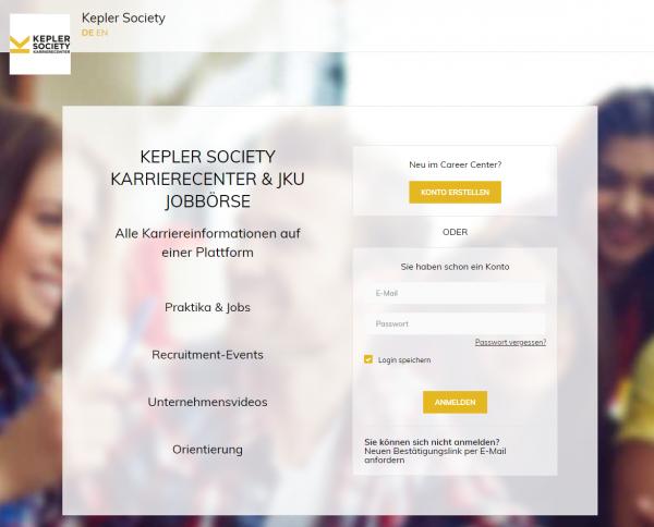 Uni Linz - Kepler Society
