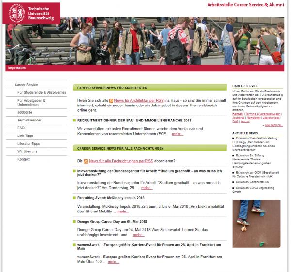 TU Braunschweig (Career Service) - Studenten