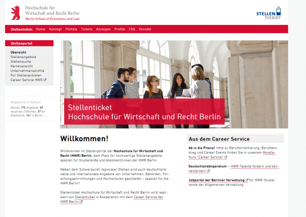 HWR Berlin - Stellenticket