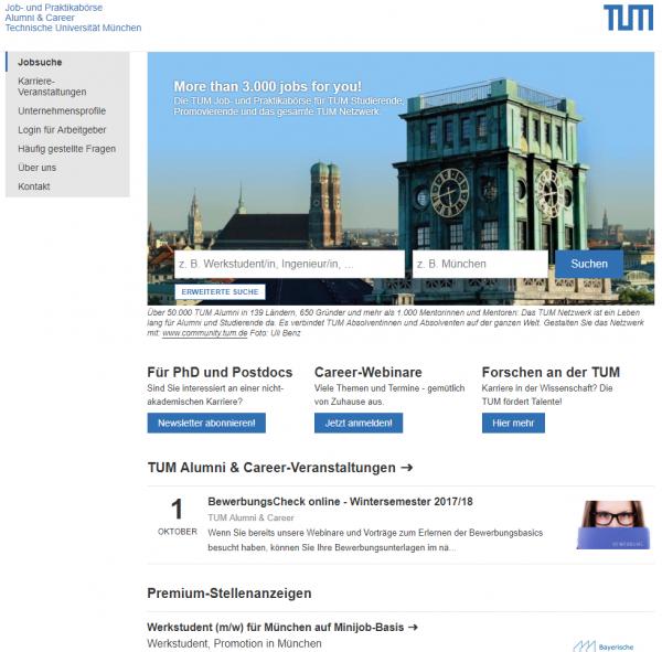 TU München (Career Service) - 300