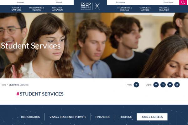 ESCP Berlin - Career Service