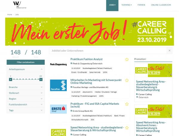 WU Wien - Career Center