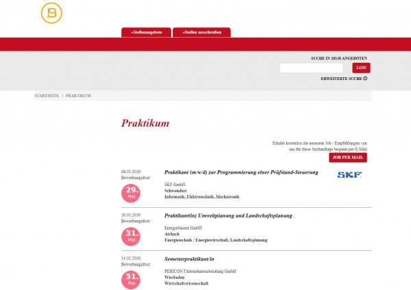 TU Berlin - Berufsstart