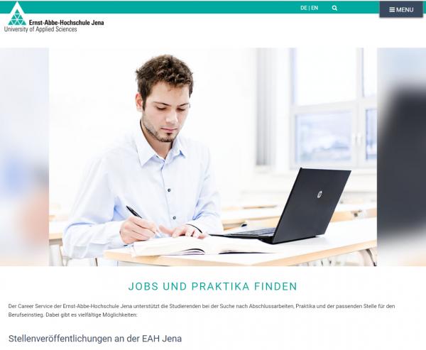 EAH Jena (Stellenticket) - Praktikanten
