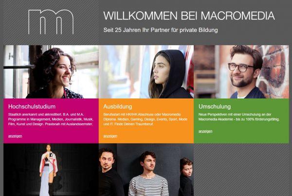 HS Macromedia div. Standorte (Career Service) - Studenten