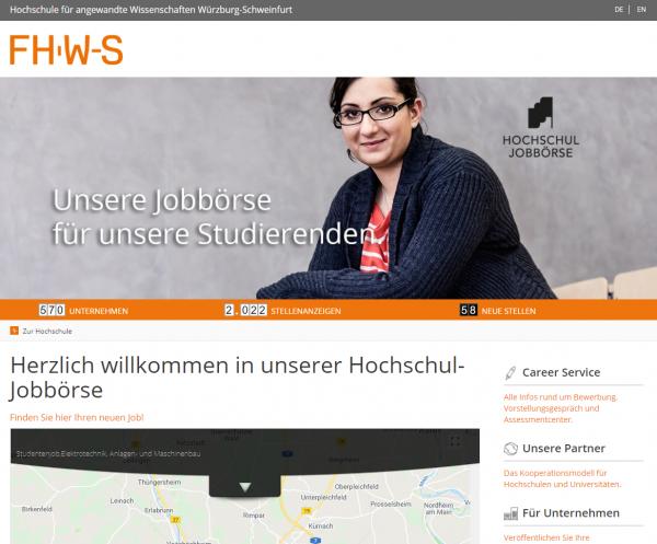 FH Würzburg-Schweinfurt (Hochschul-Jobbörse) - Studenten