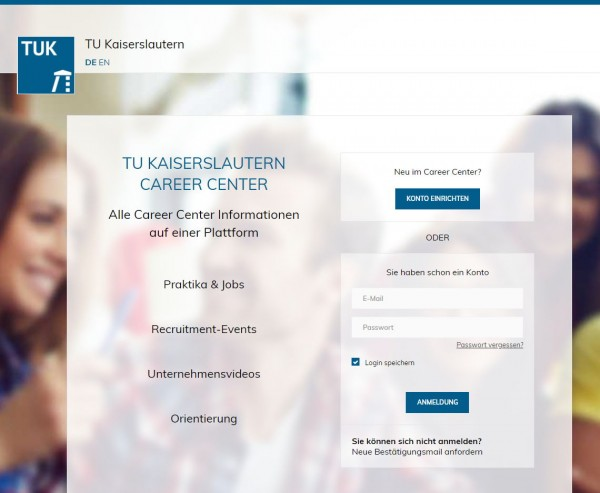 TU Kaiserslautern - Career Service