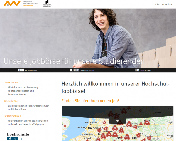 TH Amberg-Weiden (Hochschul-Jobbörse) - Studenten