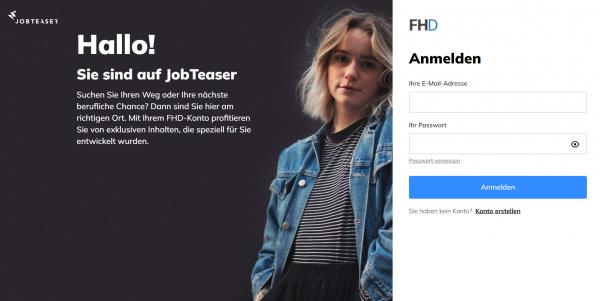FH Dresden (Career Service) - Studenten