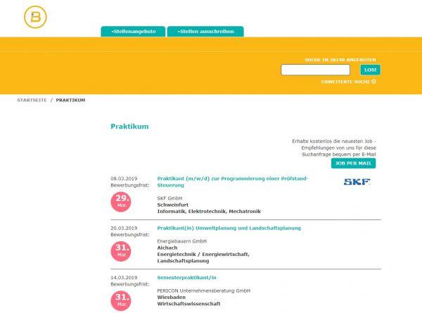 Uni Erfurt - Berufsstart