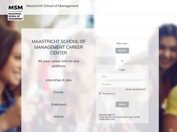 Maastricht School of Management - Career Service