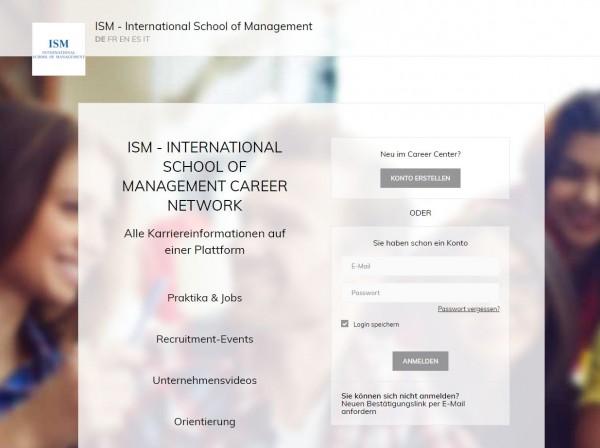ISM München - Career Center