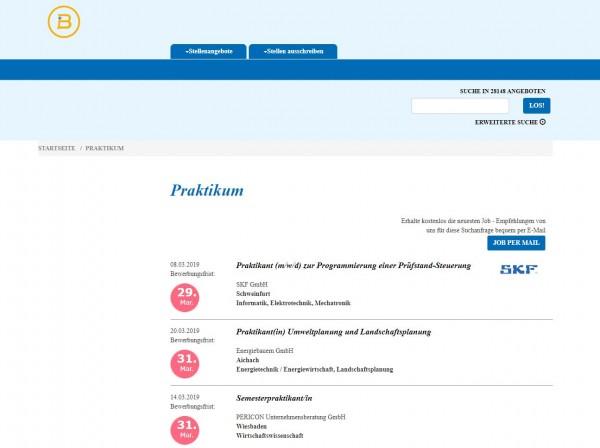 Uni Freiburg - Berufsstart
