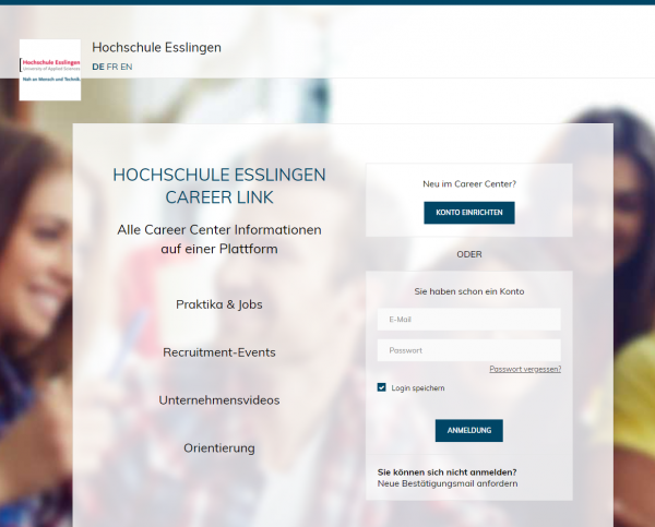 HS Esslingen (Career Center) - Studenten