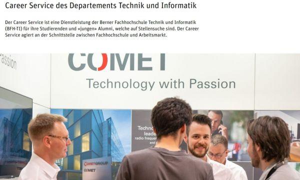 FH Bern (Fachbereich Technik und Informatik) - Career Service