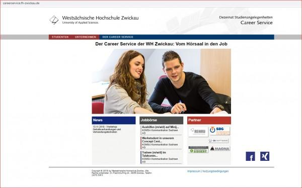 WHS Zwickau - Career Service