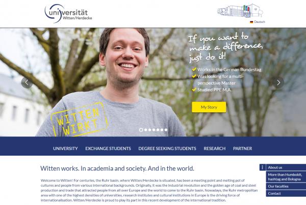 Uni Witten/Herdecke (Career Service) - Studenten