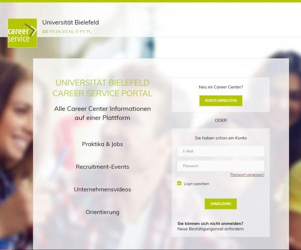 Uni Bielefeld - Career Service