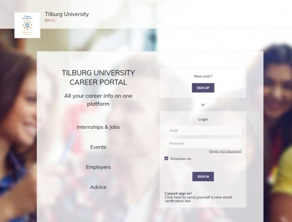 Uni Tilburg (Student Career Services)