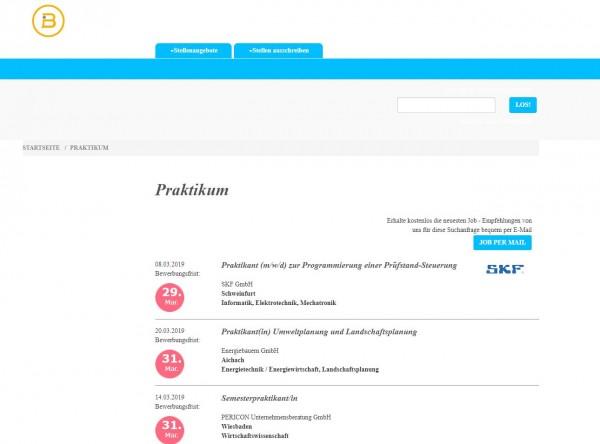 Uni Stuttgart - Berufsstart