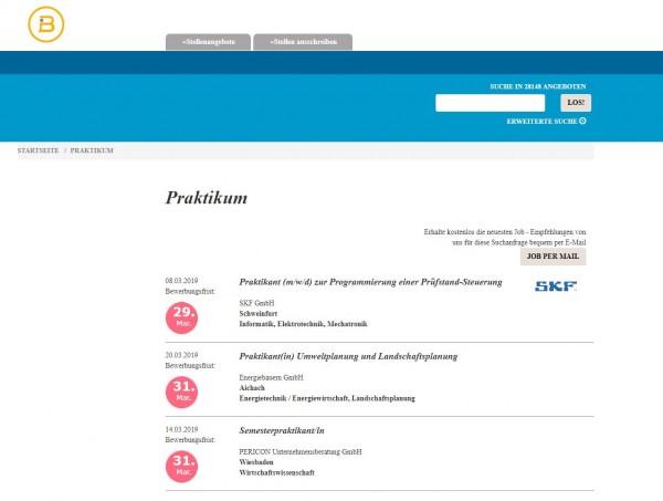 Uni Münster - Berufsstart