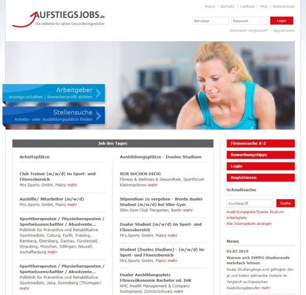 HS für Prävention und Gesundheitsmanagement - Aufstiegsjobs.de