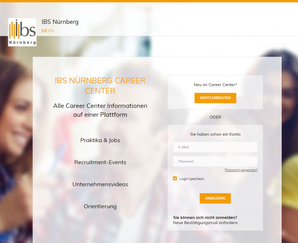 IBS Nürnberg (Career Center) - Praktikanten