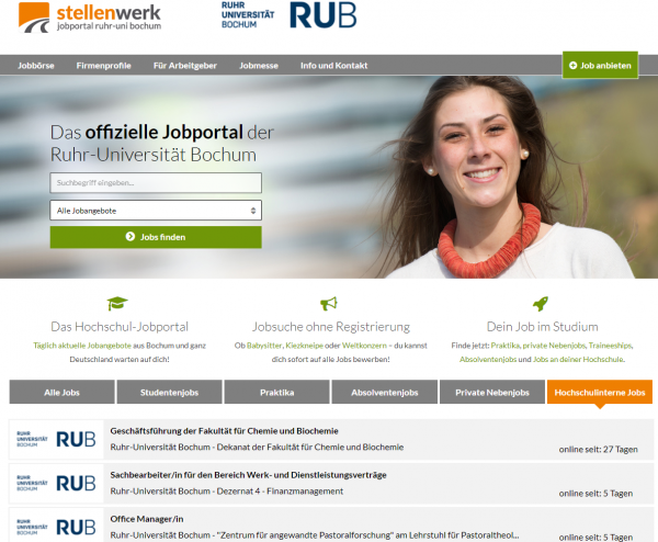Uni Bochum (Stellenwerk) - Studenten